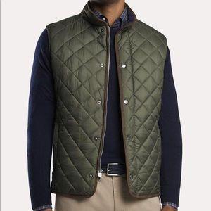 Peter Millar quilted vest